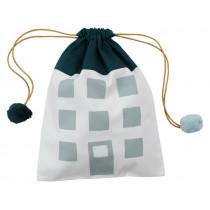Fabelab Gift bag HOUSE dark green