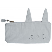 Fabelab Pencil Case BUNNY icy grey