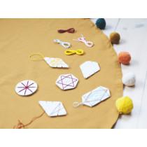 Fabelab DIY Kit CHRISTMAS DECORATIONS