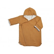 Fabelab BATHROBE ochre