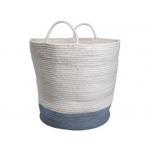 Fabelab Rope Basket BLUE SPRUCE large