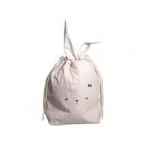 Fabelab Large Storage Bag BUNNY mauve