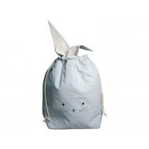 Fabelab Large Storage Bag CAT foggy blue