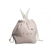 Fabelab Small Storage Bag BUNNY mauve