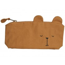 Fabelab Pencil Case BEAR ochre
