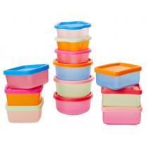 RICE 12 Plastic food boxes small
