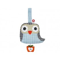 Franck & Fischer musical owl Else in grey