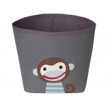 FRANCK & FISCHER storage bin MONKEY dark grey