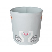 FRANCK & FISCHER storage bin SWAN light grey large