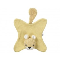 Franck & Fischer Cuddly Cloth SQUIRREL yellow