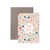 Frau Ottilie Birthday greeting card FOR YOU flowers