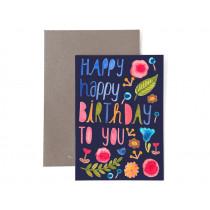 Frau Ottilie Birthday greeting card HAPPY BIRTHDAY TO YOU