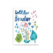 Frau Ottilie Postcard GREATEST BROTHER