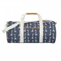Fresk Weekender Bag Large GIRAFFE navy