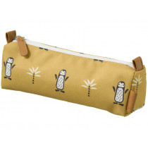 Fresk Pencil Case PENGUIN ochre