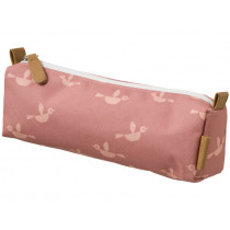 Fresk Pencil Case BIRDS coral