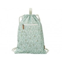Fresk Drawstring Bag DROPS blue