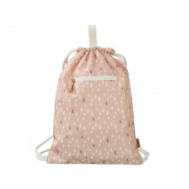 Fresk Drawstring Bag DROPS pink