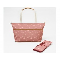 Fresk Nursing Bag BIRDS coral