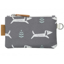 Fresk wallet DOGS grey