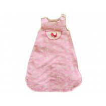 David Fussenegger sleeping bag pink bird