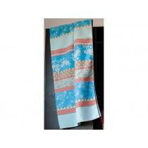 Fussenegger blanket Sylt romantic patch blue