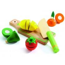 Spiel Djeco Obst und Gemüse schneiden