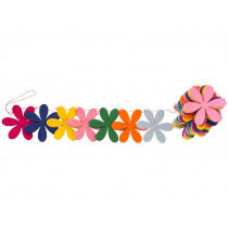 Global Affairs Garland FLOWERS funky