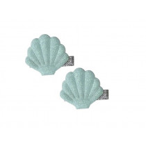 Global Affairs Hairclips MUSSELS mint