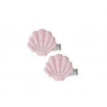 Global Affairs Hairclips MUSSELS pink