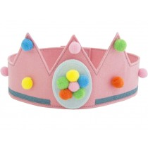 Global Affairs Birthday Crown NUMBERS pink