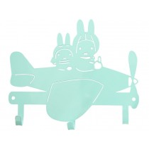 Global Affairs Coat Rack MIFFY mint