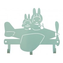 Global Affairs Coat Rack MIFFY greyish-green