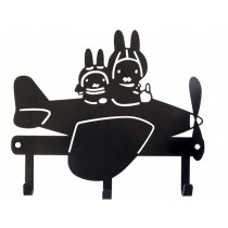 Global Affairs Coat Rack MIFFY black