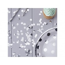 Ginger Ray TABLE CONFETTI silver metallic