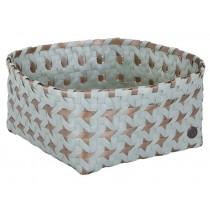 Handed By: Basket Alya - greyish green/gold
