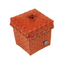 Handed By basket Ascoli terracotta