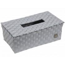 Handed By tissue box Luzzi flint grey