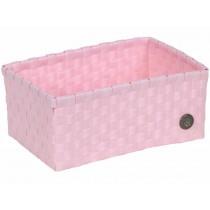 Handed By basket Sardinia powder pink