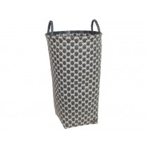 Handed By laundry basket Dijon dark grey