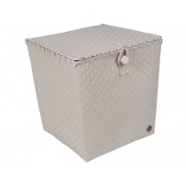 Handed By basket Florence pale grey