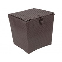 Handed By basket Florence dark taupe