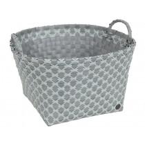 Handed By basket Metz greyish green pattern