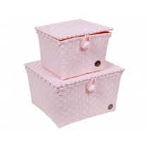 Handed By basket Pisa powder pink