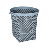 Handed By round basket Imperfection powder blue dark grey
