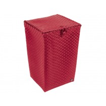 "Laundry basket ""Venice"" in royal red by Handed By"
