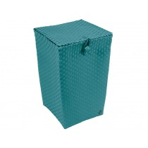 "Laundry basket ""Venice"" in petrol by Handed By"