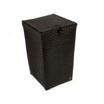 "Laundry basket ""Venice"" in black by Handed By"