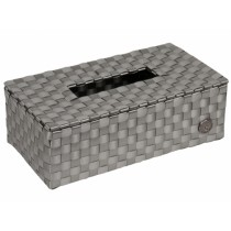 Handed By tissue box Luzzi silver