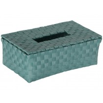 Handed By Tissue box LUZZI stone green